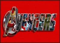 THE AVENGERS - Logo Art Red - canvas print - self adhesive poster - photo print (3)